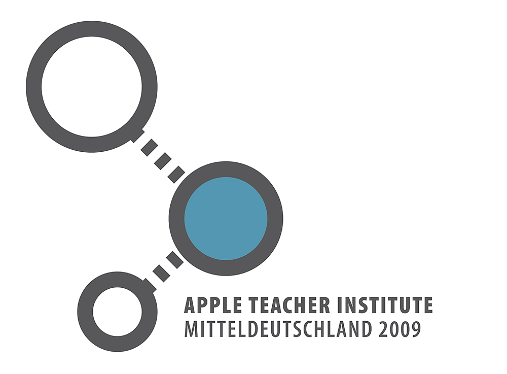 """Apple Teacher Institute Mitteldeutschland"" / Logodesign / 2009."