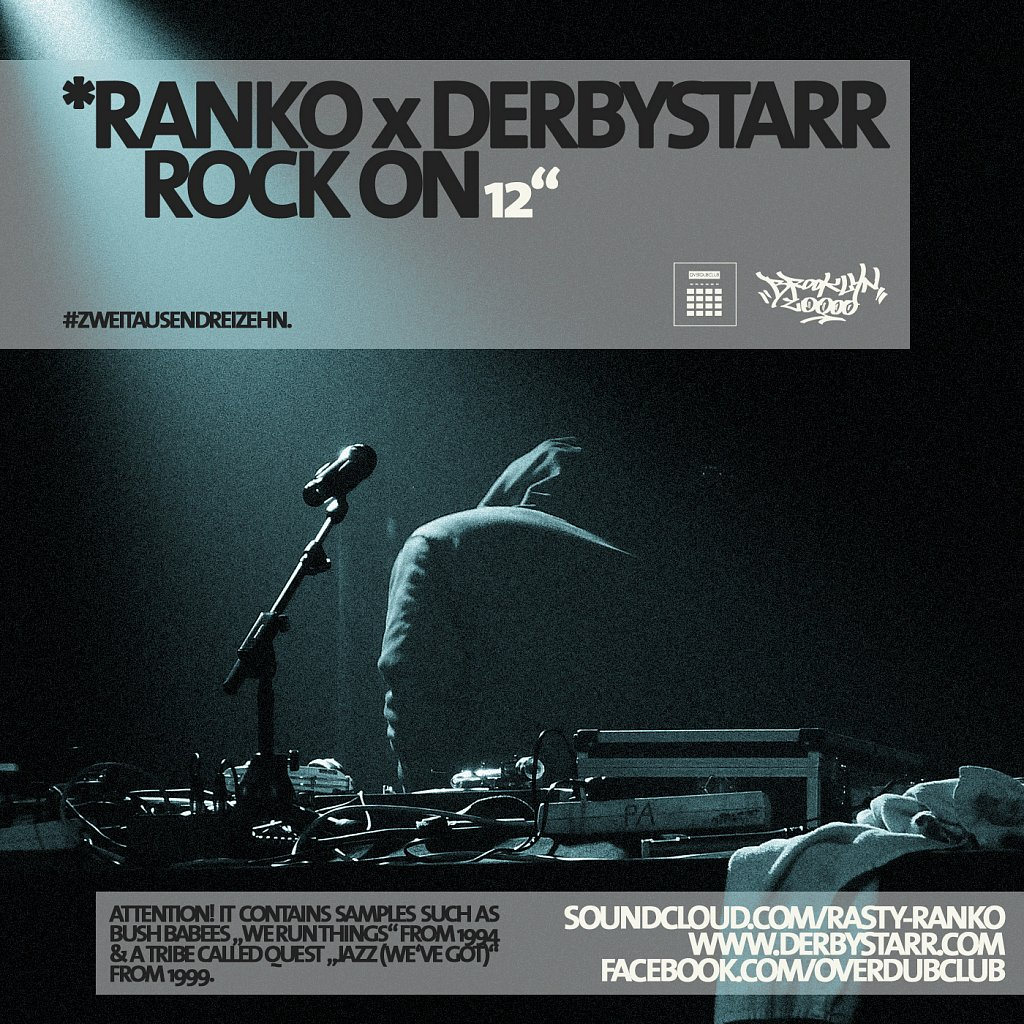 """*Ranko x derbystarr – Rock On"" / Cover / 2013."